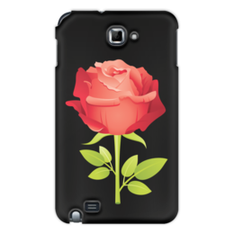 """Чехол для Samsung Galaxy Note """"розочка"""" - цветы, роза, подарок, прикольная"""