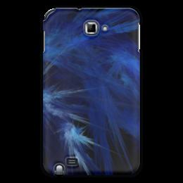 """Чехол для Samsung Galaxy Note """"Абстрактный дизайн"""" - графика, абстракция, линии, авангард, лучи"""