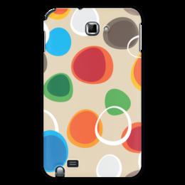 """Чехол для Samsung Galaxy Note """"Цветная абстракция"""" - узор, стиль, рисунок, орнамент, абстрактный"""