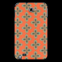 """Чехол для Samsung Galaxy Note """"Цветочный"""" - цветочный, узор, орнамент, стиль, рисунок"""
