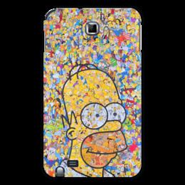 "Чехол для Samsung Galaxy Note ""Симпсоны"" - гомер, симпсоны, гомер симпсон, the simpsons, gomer"