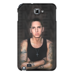 "Чехол для Samsung Galaxy Note ""Eminem Body"" - eminem, эминем, slim shady, слим шейди"
