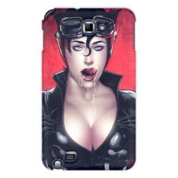 "Чехол для Samsung Galaxy Note ""Catwoman"" - девушка, girl, женщина-кошка, catwoman"