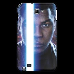 """Чехол для Samsung Galaxy Note """"Звездные войны - Финн"""" - кино, фантастика, star wars, звездные войны, дарт вейдер"""