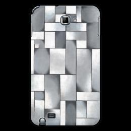 """Чехол для Samsung Galaxy Note """"Композиция в сером"""" - картина, дусбург"""