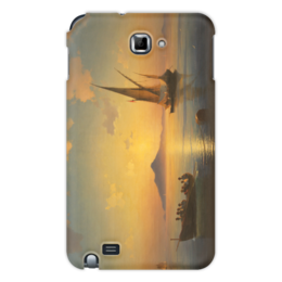 """Чехол для Samsung Galaxy Note """"Неаполитанский залив"""" - картина, айвазовский"""