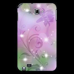 "Чехол для Samsung Galaxy Note ""Лилия"" - цветок, лилия"