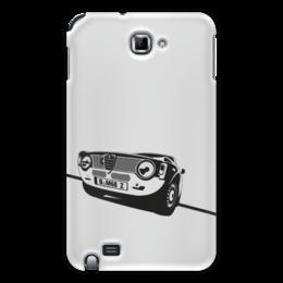 "Чехол для Samsung Galaxy Note ""Retro Alfa Romeo Racing"" - ретро, авто, машина, гонки, alfa romeo"