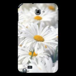 "Чехол для Samsung Galaxy Note ""Ромашки"" - цветы, цветок, белый, ромашка, желтый"
