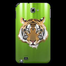 "Чехол для Samsung Galaxy Note ""Взгляд тигра"" - рисунок, взгляд, тигр, джунгли"