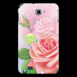 "Чехол для Samsung Galaxy Note ""Розочка"" - цветок, роза"