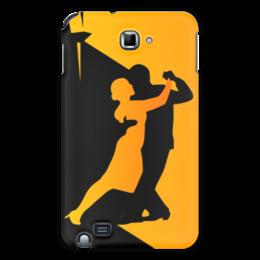 "Чехол для Samsung Galaxy Note ""Танго в ночи"" - музыка, танец, ночь, танго"