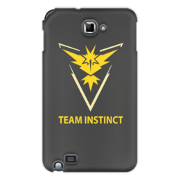 "Чехол для Samsung Galaxy Note ""Team Instinct"" - знак, pokemon, покемон, instinct, инстинкт"