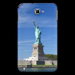 "Чехол для Samsung Galaxy Note ""Статуя Свободы"" - нью-йорк, америка, статуя свободы"