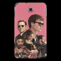 """Чехол для Samsung Galaxy Note """"Baby Driver"""" - музыка, девушки, знаменитости, оружие, малыш на драйве"""