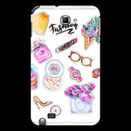 "Чехол для Samsung Galaxy Note ""Spring Fashion Vibes"" - весна, мода, акварель, иллюстрация"