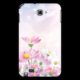 """Чехол для Samsung Galaxy Note """"Цветочки"""" - цветы"""