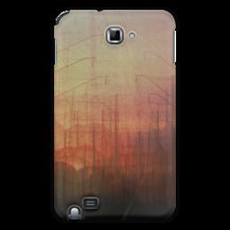 """Чехол для Samsung Galaxy Note """"Railsea Note"""" - арт, город, дизайн, оригинально, девушке, парню, закат, креативно, путешествие, романтично"""