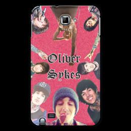 "Чехол для Samsung Galaxy Note ""Оливер Сайкс/Oliver Sykes "" - rock, bmth, оливерсайкс, oliversykes"