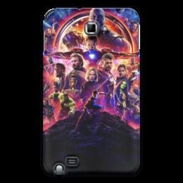 """Чехол для Samsung Galaxy Note """"Мстители"""" - marvel, мстители, avengers, марвел, война бесконечности"""