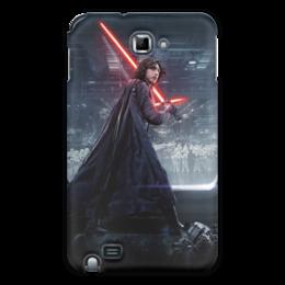 """Чехол для Samsung Galaxy Note """"Звездные войны - Кайло Рен"""" - кино, фантастика, star wars, звездные войны, дарт вейдер"""