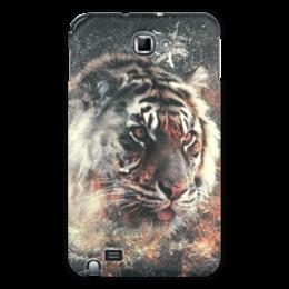 "Чехол для Samsung Galaxy Note ""Тигр..."" - тигр, животное"