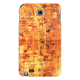 """Чехол для Samsung Galaxy Note """"Шаолинь"""" - единоборства, кунг фу, ушу, китайские, восточные"""