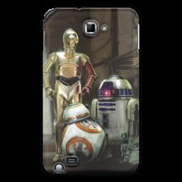 "Чехол для Samsung Galaxy Note ""Star Wars"" - кино, фантастика, star wars, звездные войны, дарт вейдер"