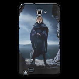 """Чехол для Samsung Galaxy Note """"Звездные войны - Люк Скайуокер"""" - фантастика, звездные войны, дарт вейдер, кино, star wars"""