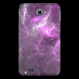 """Чехол для Samsung Galaxy Note """"Абстрактный дизайн"""" - графика, абстракция, авангард, фрактал, лучи"""