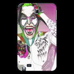 "Чехол для Samsung Galaxy Note ""Джокер"" - jared leto, joker, джокер, отряд самоубийц, suicide squad"