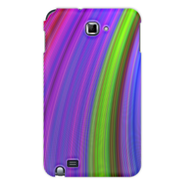 """Чехол для Samsung Galaxy Note """"Радужная"""" - узор, стиль, рисунок, абстрактный, орамент"""