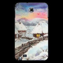 "Чехол для Samsung Galaxy Note ""Зимнее."" - winter, зима, снег, snow"