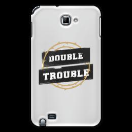 """Чехол для Samsung Galaxy Note """"Double Trouble"""" - молодежь, стиль, улица, хулиган, дерзкий"""