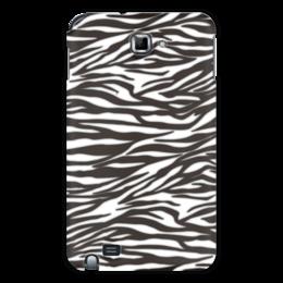 """Чехол для Samsung Galaxy Note """"Зебра"""" - узор, стиль, зебра, рисунок, звериный"""