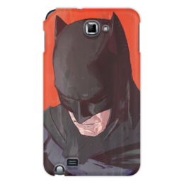 """Чехол для Samsung Galaxy Note """"Бэтмен"""" - комиксы, batman, бэтмен, dc comics, batman vs superman"""
