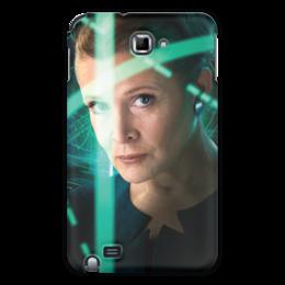 """Чехол для Samsung Galaxy Note """"Звездные войны - Лея"""" - кино, фантастика, star wars, звездные войны, дарт вейдер"""