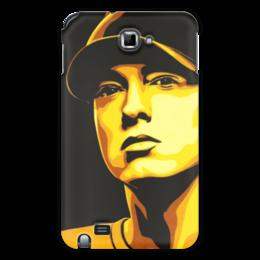 "Чехол для Samsung Galaxy Note ""Еminem Face"" - eminem, эминем, slim shady, слим шейди"