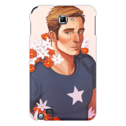 "Чехол для Samsung Galaxy Note ""Marvel Капитан Америка "" - арт, комиксы"