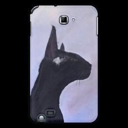 "Чехол для Samsung Galaxy Note ""Багира"" - кошка, кошки, коты, пантера, котики, багира"