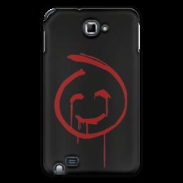 """Чехол для Samsung Galaxy Note """"Смайлик Кровавый Джон (Менталист)"""" - смайлик, red john, красный джон, менталист, кровавый джон"""