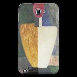 """Чехол для Samsung Galaxy Note """"Торс (Фигура с розовым лицом) (Малевич)"""" - картина, живопись, малевич"""