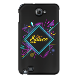 "Чехол для Samsung Galaxy Note ""Love Space"" - звезды, космос, вселенная"