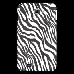"""Чехол для Samsung Galaxy Note """"Зебра"""" - животные, стиль, зебра, полосы, полосатый"""