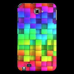 """Чехол для Samsung Galaxy Note """"яркие краски"""" - подарок, красивый, прикольный"""