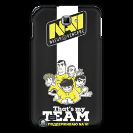 "Чехол для Samsung Galaxy Note ""NA'VI"" - game, cs, кс, cs go"
