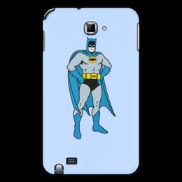 """Чехол для Samsung Galaxy Note """"Бэтмен"""" - batman, бэтмен"""