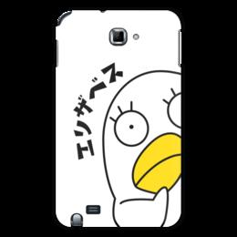 "Чехол для Samsung Galaxy Note ""Гинтама. Элизабет"" - аниме, манга, элизабет, gintama, гинтама"