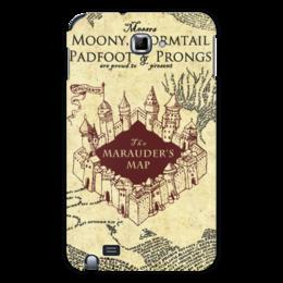 """Чехол для Samsung Galaxy Note """"Карта мародеров"""" - harry potter, гарри поттер, карта мародеров"""