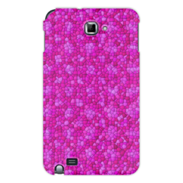 "Чехол для Samsung Galaxy Note ""purple"" - арт, узор, абстракция, текстура"